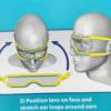 משקפי מגן למטופל 2